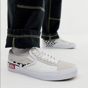 Vans Slip-On Cap Checkerboard True White